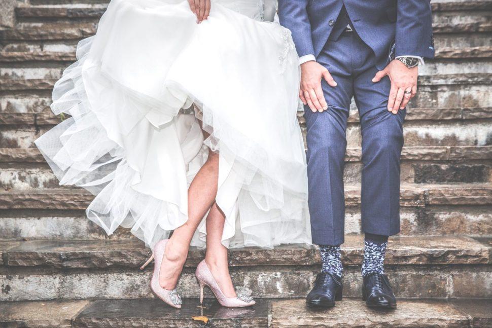 Svadba, ženích a nevesta