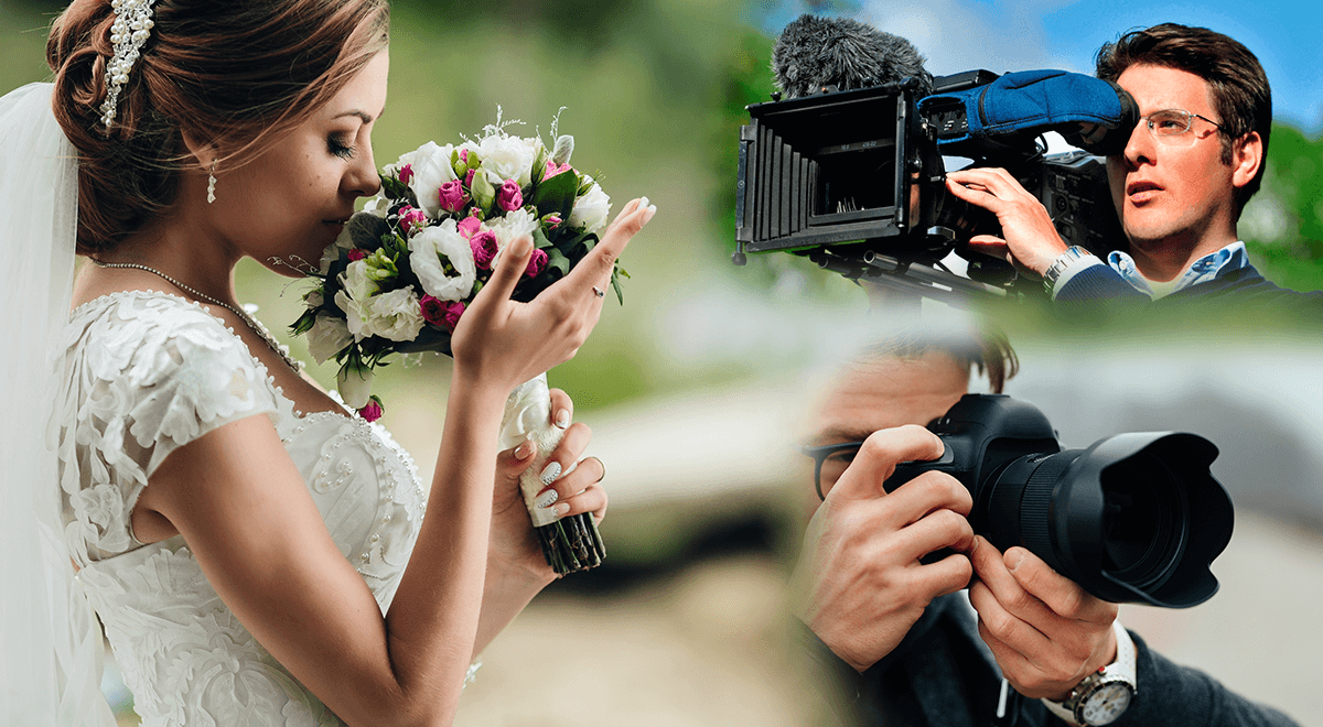 f9db592e07 Chcete ušetriť na svadbe  Nie takto! Svadobný kameraman a fotograf v jednom